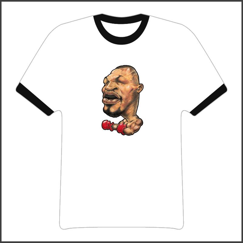Mike Tyson Cartoon Boxing Legend T Shirt