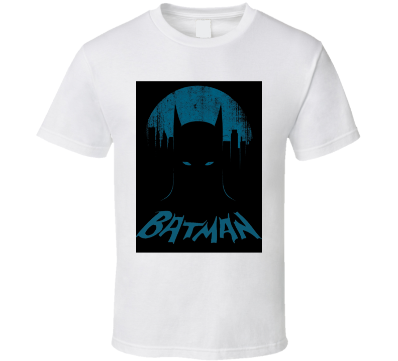 Batman vintage style Batman with retro logo distressed Comic book TV movies super hero t-shirt 2