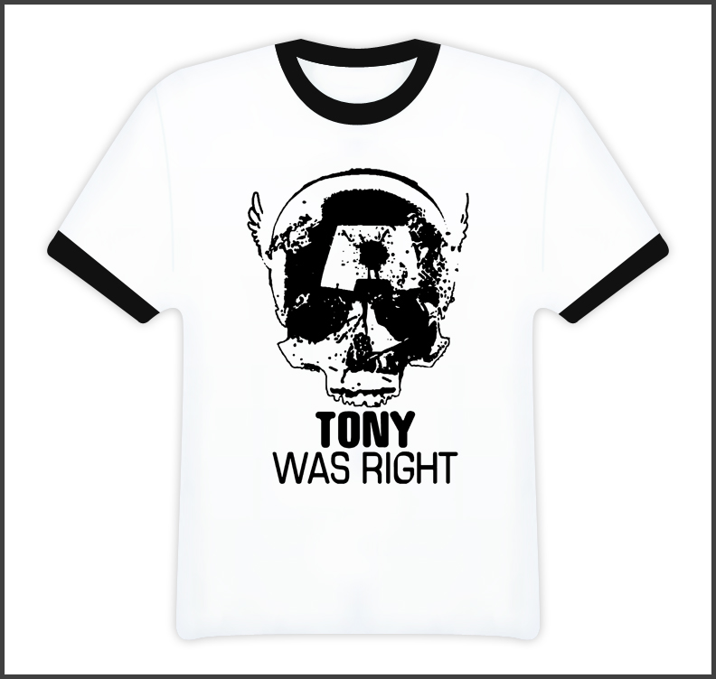 Tony Was Right Civil War Captain America Comic Book T Shirt
