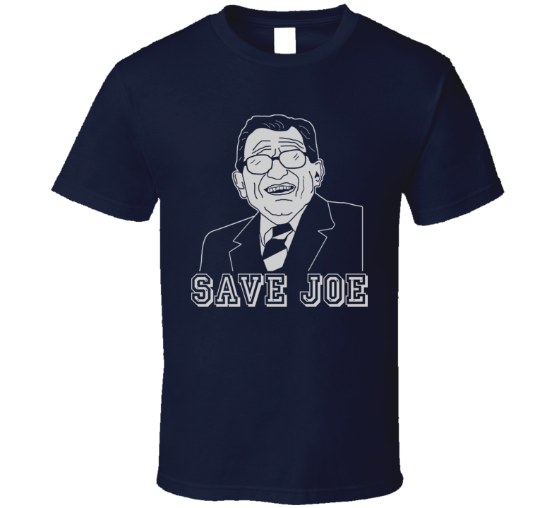 Save Joe Paterno Coach State Penn Football T Shirt