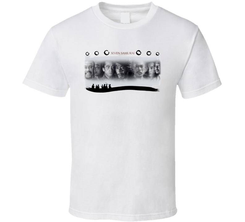 Seven Samurai Title T Shirt