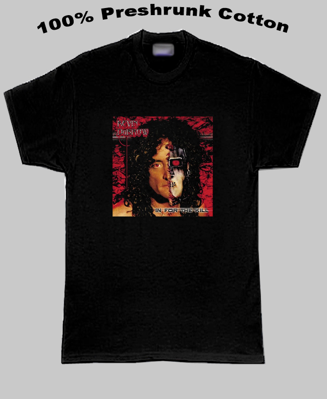 Quiet Riot In For The Kill Kevin Dubrow T Shirt