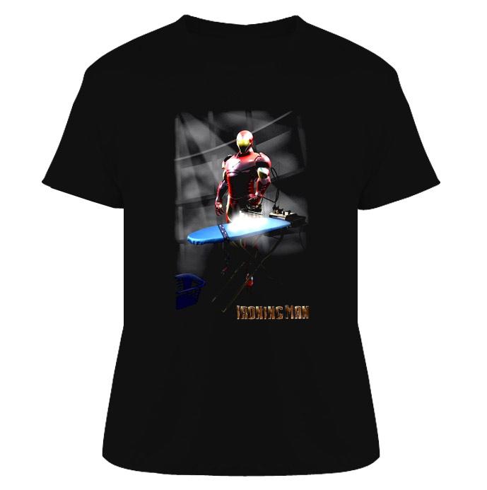 Ironing Man T Shirt