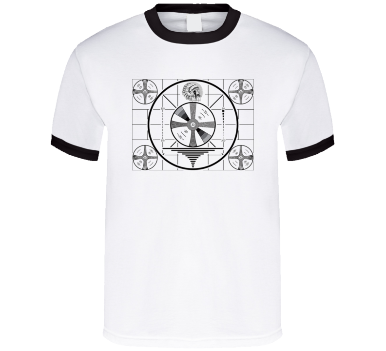 Retro Test Pattern T Shirt