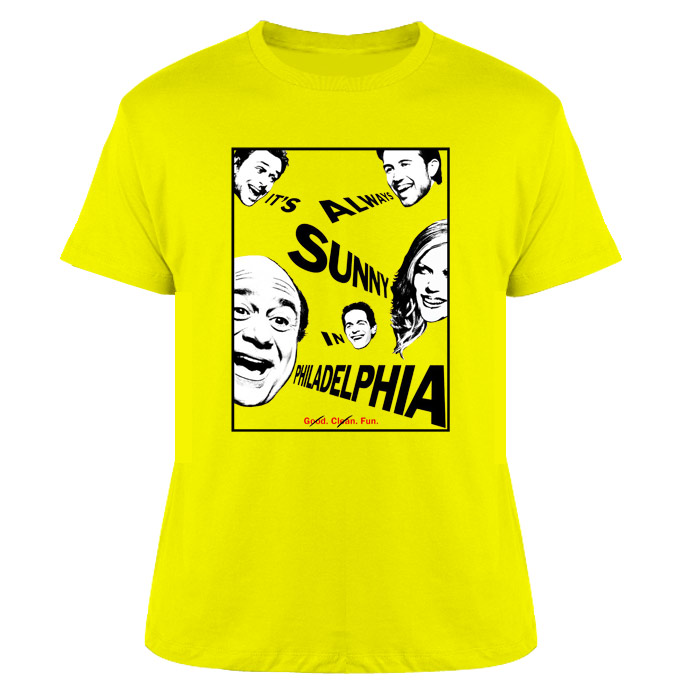 Sunny In Philadelphia T Shirt