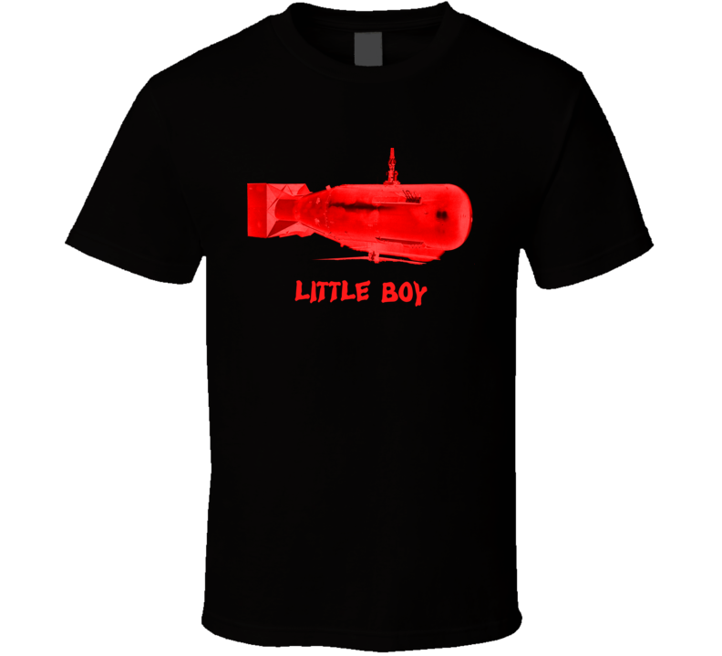 Little Boy WW2 Atom Bomb Nuclear Weapons vintage T-Shirt