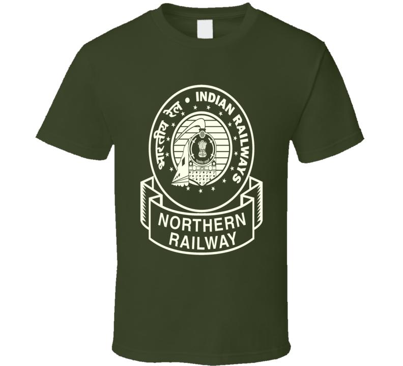 Indian Railways Logo Northern Railway cultural t-shirt