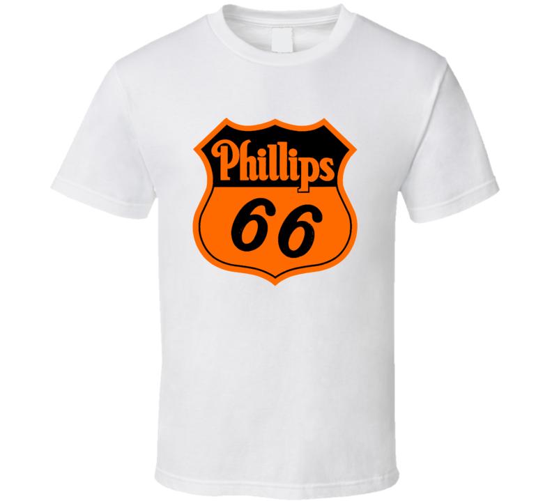 Phillips 66 Oil logo vintage style racing F1 NAscar Indy Moto GP fan t-shirt