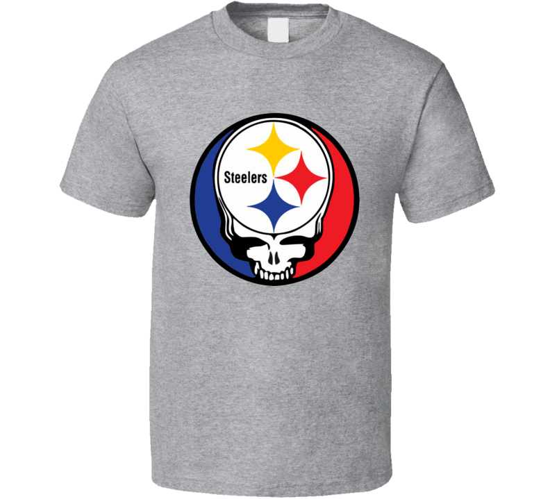 Steel your Face Pittsburg Steelers t-shirt Garcia Greatful Dead inspired NFL fan t-shirt 2