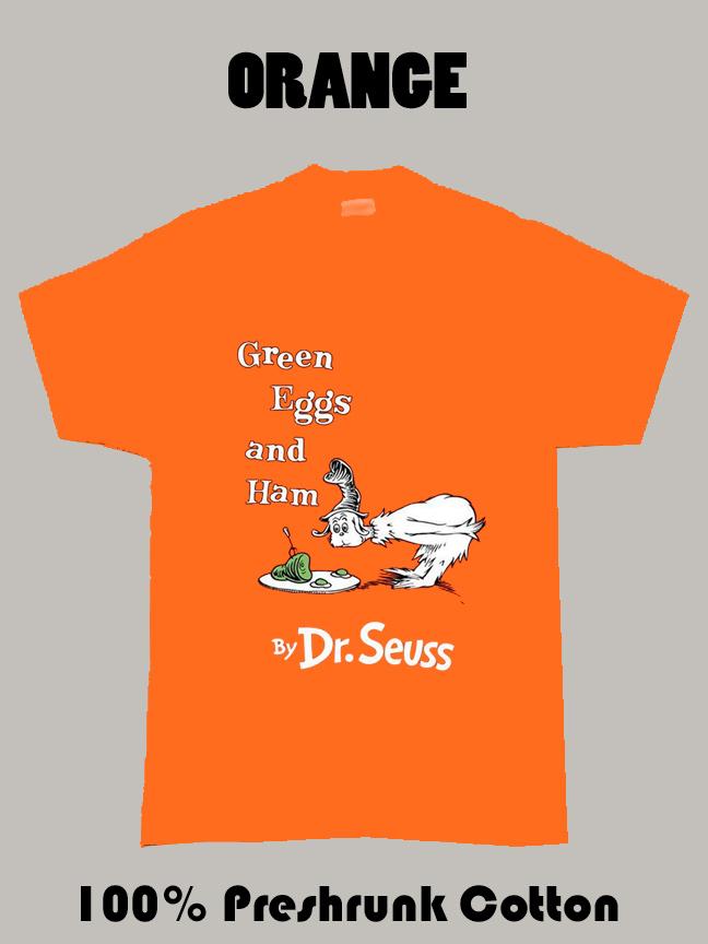 Green Eggs And Ham Dr Seuss T Shirt