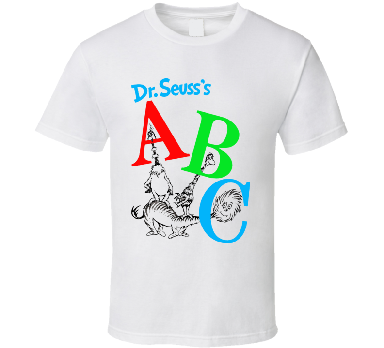 Dr Seuss A B C T Shirt