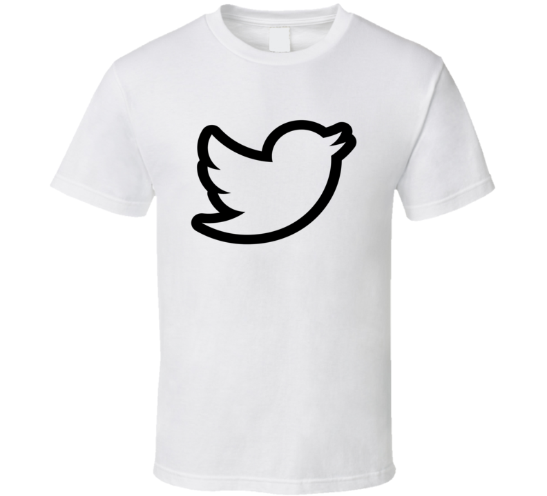 Twitter Logo minimalist style just wear it social media selfie t-shirt