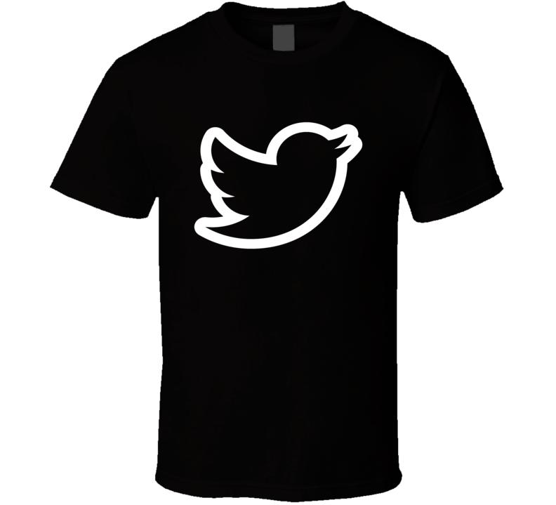 Twitter Logo minimalist style just wear it social media selfie t-shirt 2