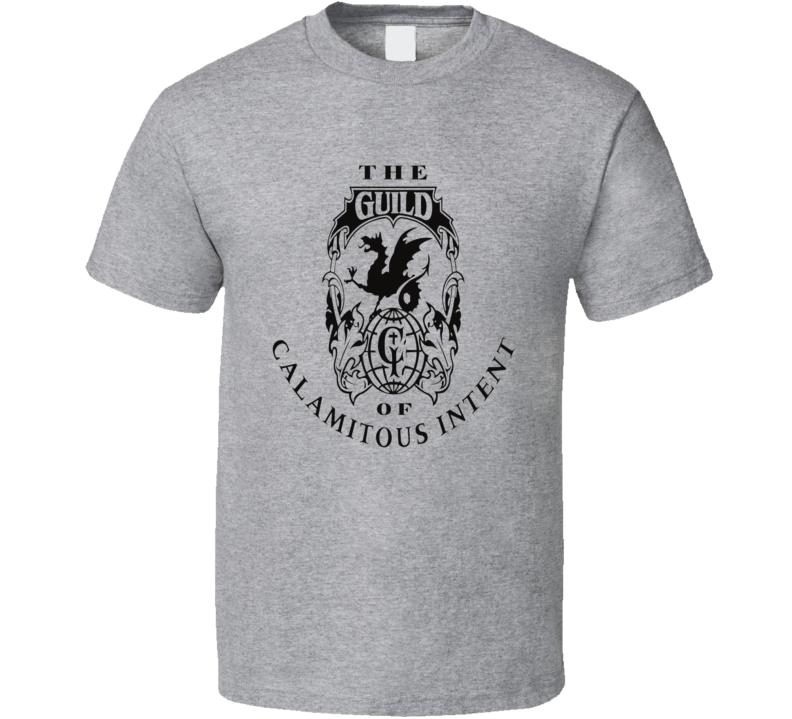 The Guild of Calamatous Intent logo Venture Bros TV cartoon series Adult Swim t-shirt