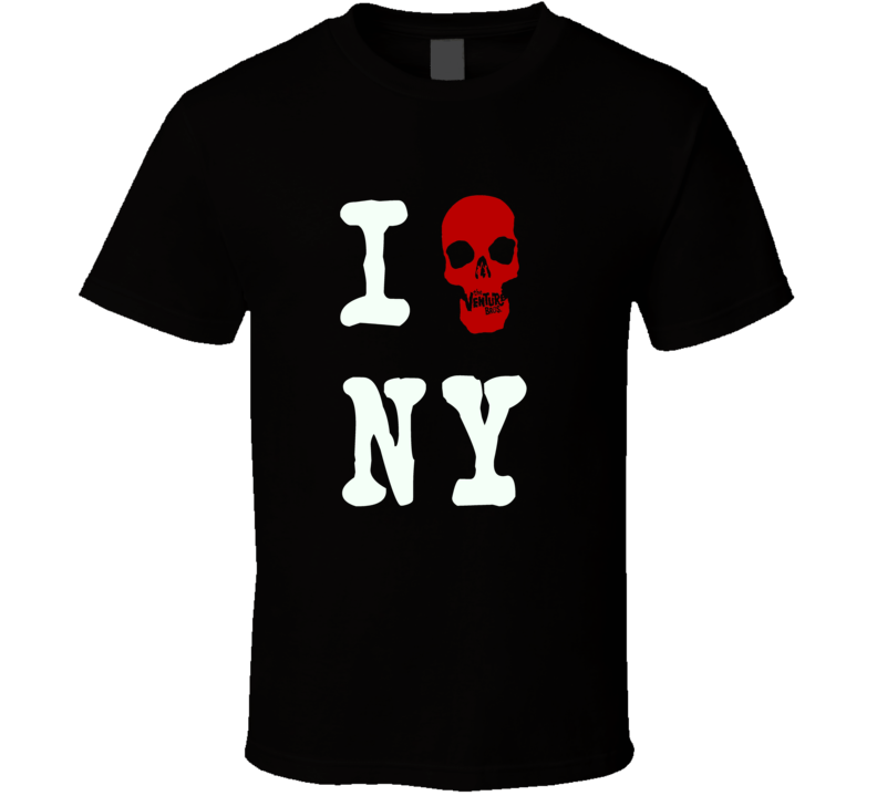I Heart Love Venture Bros I Heart NY style tv cartoon anime trending I heart fan t-shirt