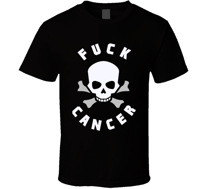 Fuck Cancer t-shirt Gray Ribbons - all cancers survivor support family t-shirt