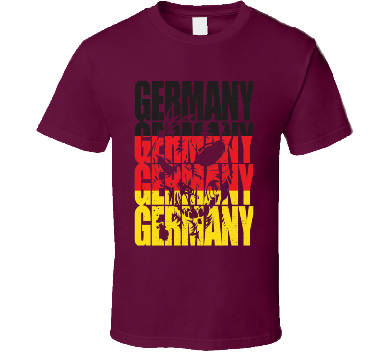 Germany sports supporter fan soccer olympics world cup Euro racing t-shirt
