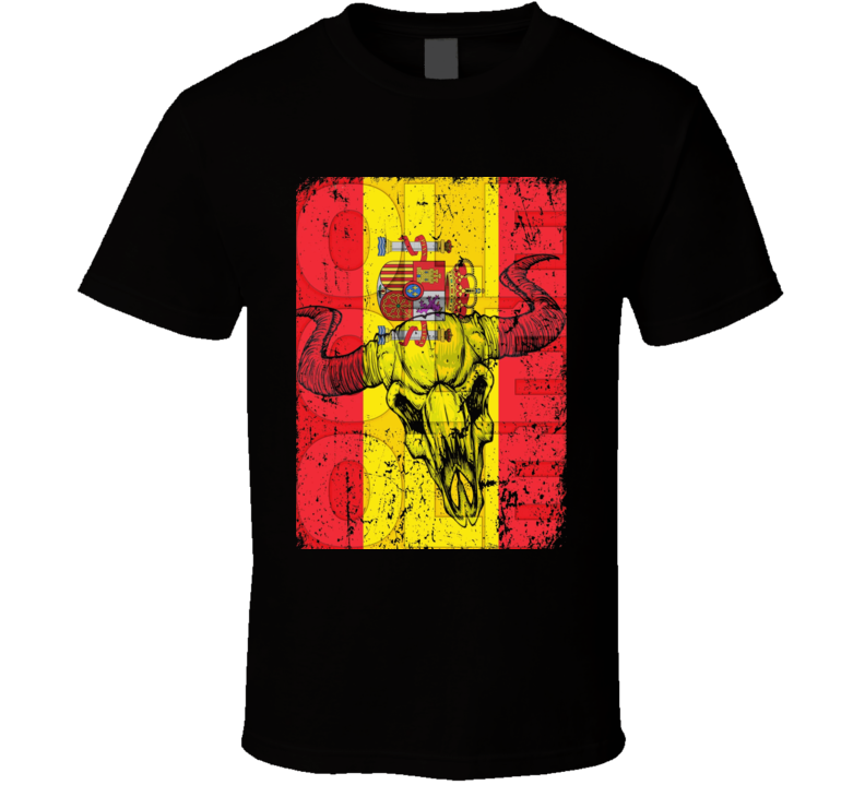 Spain sports supporter fan soccer olympics world cup Euro racing t-shirt