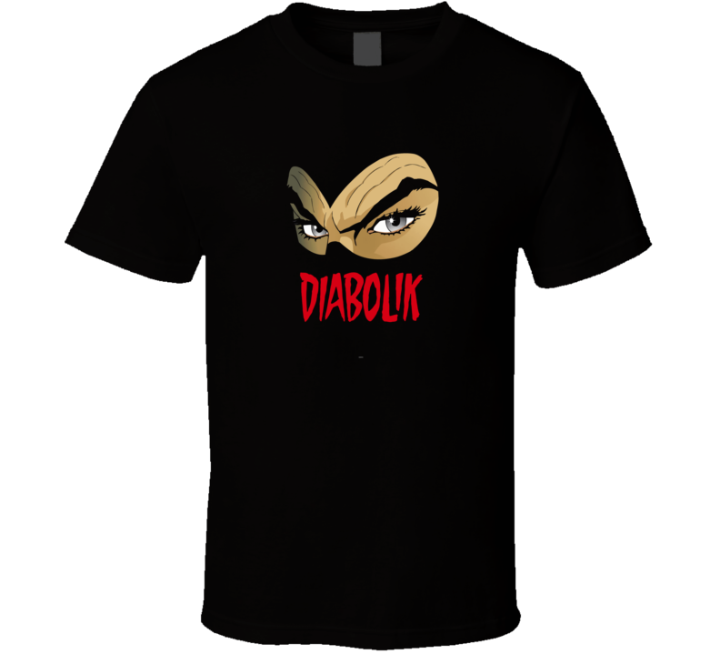 Diabolik Italian comic series anti hero eyes logo trending t-shirt