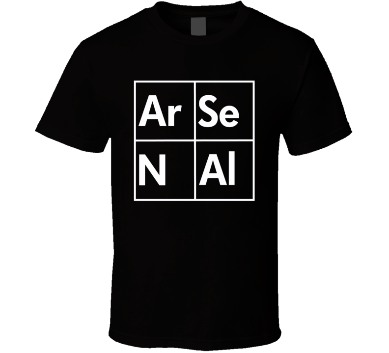 Arsenal English Soccer league team Breaking Bad Table style logo fan favorite trending t-shirt