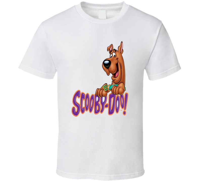 Classic cartoon Scooby-Doo cartoon dog t-shirt