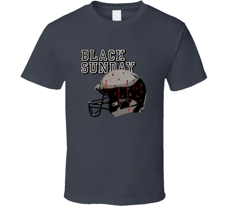 Black Sunday 1970s Terrosrist movie Football Blimp Steelers poster effect t-shirt