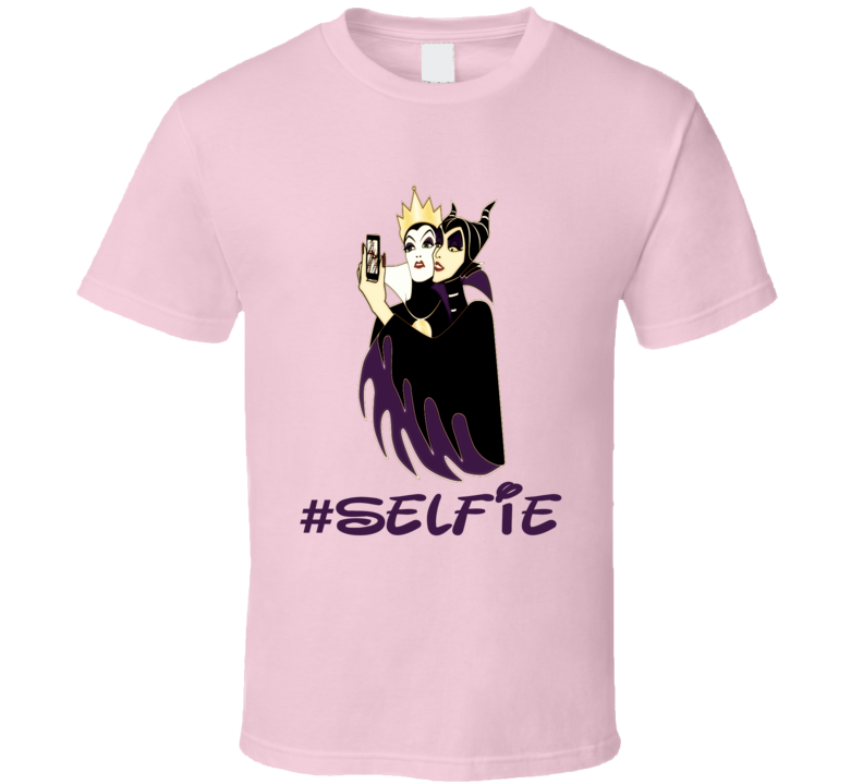 Wicked witches Evil Queen Maleficent selfie funny trending t-shirt