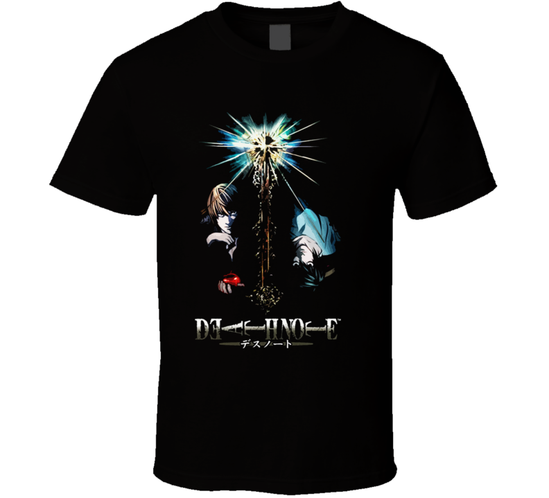 Death Note Anime Manga T Shirt
