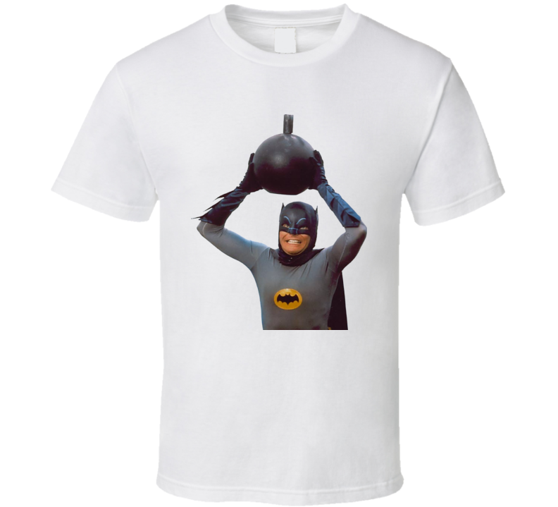Adam West Batman Quote Tv Retro T Shirt