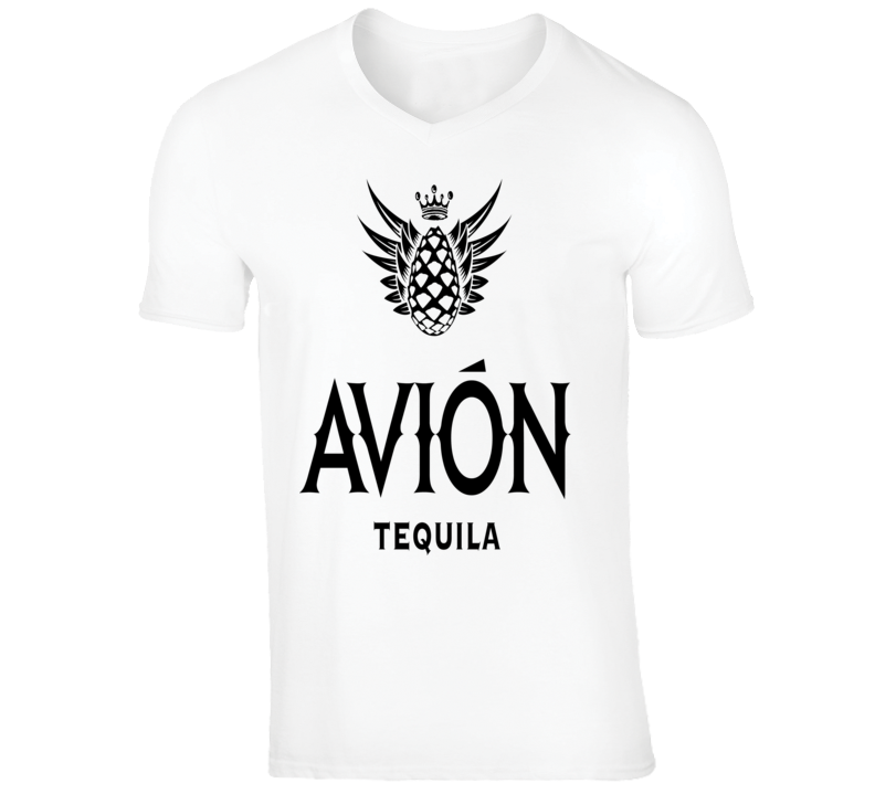 Avion Premium Tequila logo vacation Mexico Cabo party club rave t-shirt
