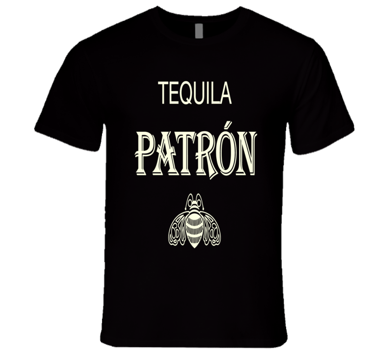 Tequila Patron premium tequila logo brand party cabana vacation t-shirt 3