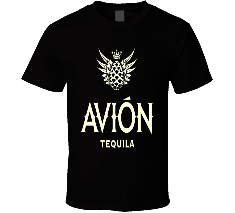 Avion Premium Tequila logo vacation Mexico Cabo party club rave t-shirt 3