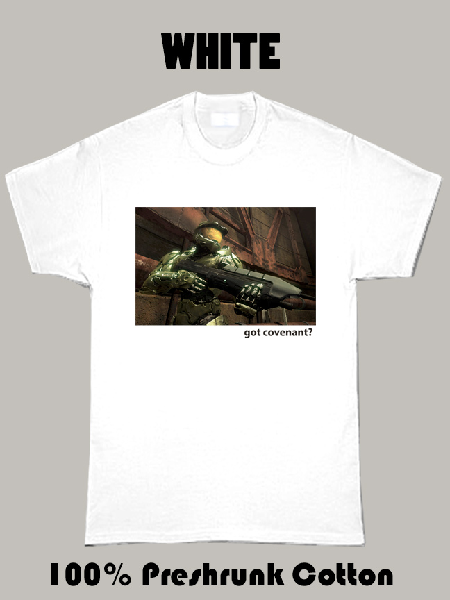 Halo Video Game Series The Covenant T Shirt