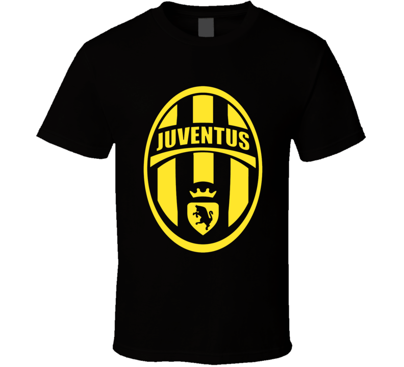 Juventus Italian Seria A soccer team logo colours football fan t-shirt