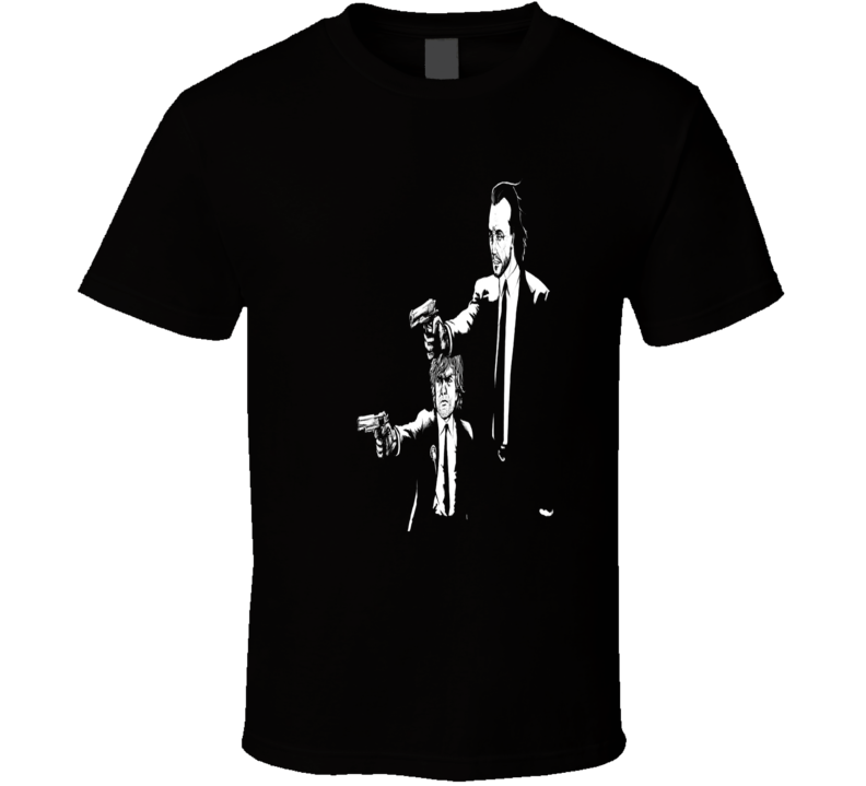 Game of Thrones Pulp Fiction parody Tyrion and Bronn trending fan t-shirt