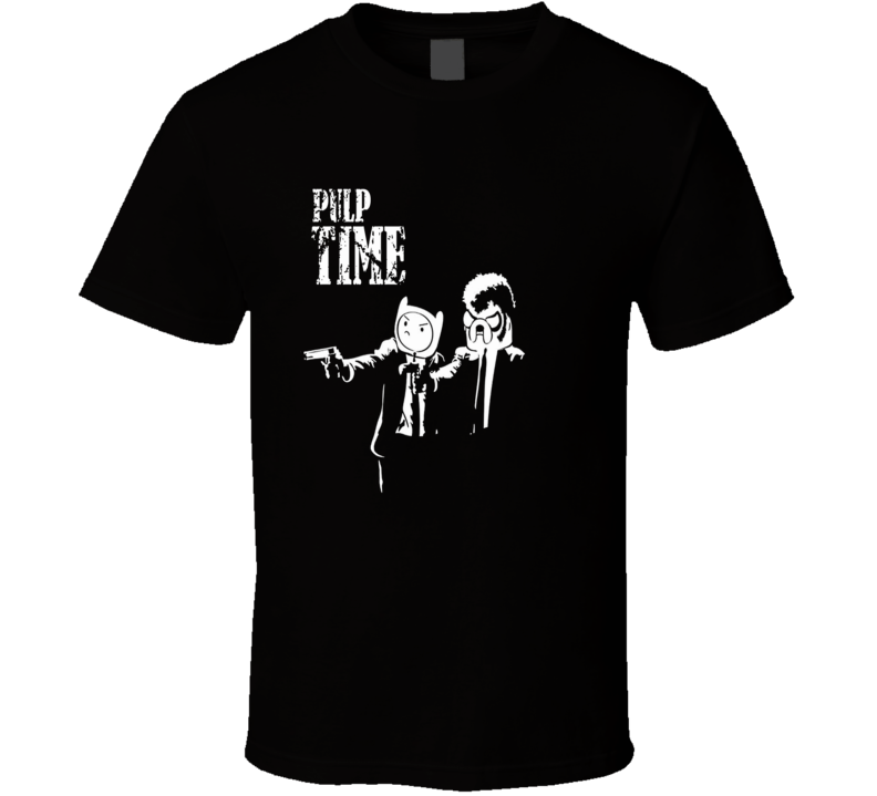 Adventure Time Pulp Fiction mash up parody trending fan t-shirt