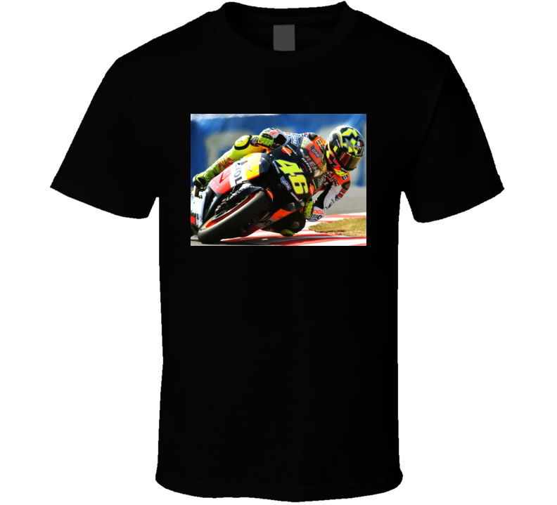 Valentino Rossi Motorcycle T Shirt
