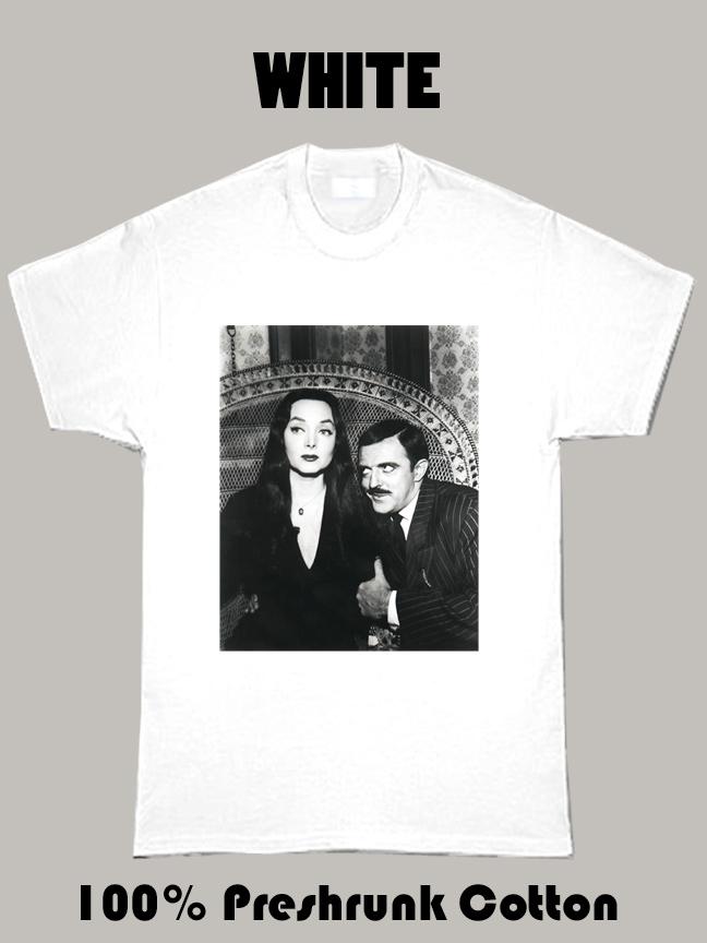Mortitia Addams 1960'S Original Carolyn Jones T Shirt