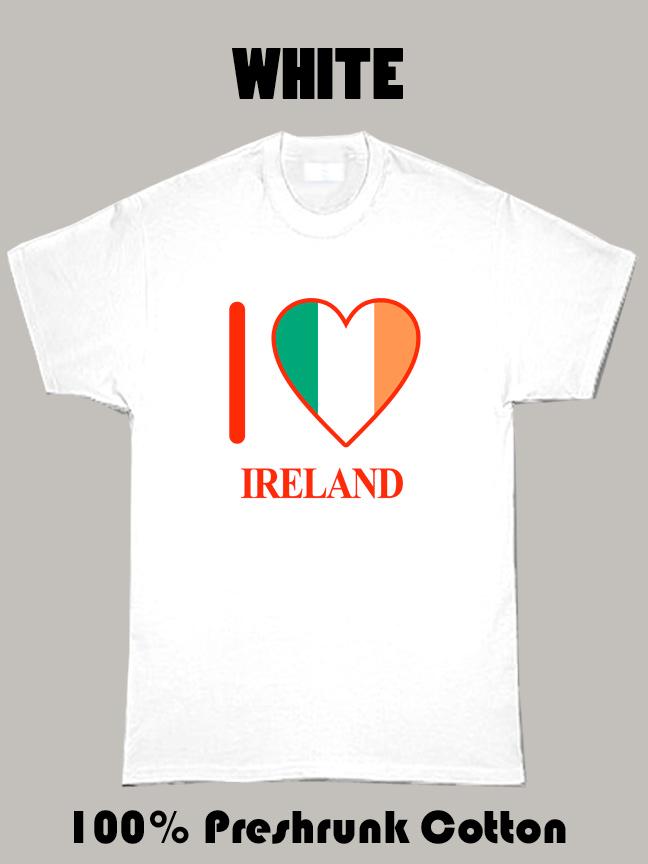 I Love Ireland Olympics Country T Shirt