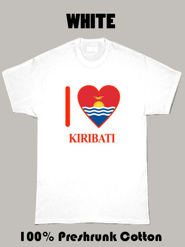 I Love Kiribati Olympics Country T Shirt