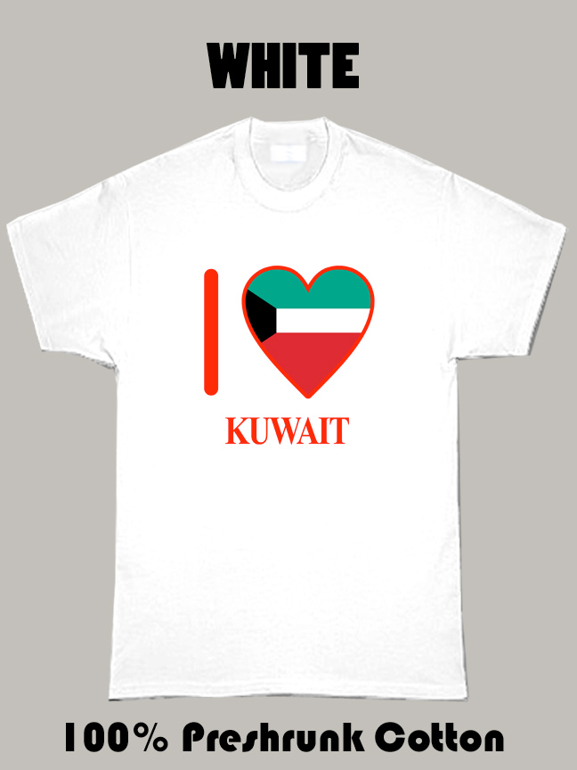 I Love Kuwait Olympics Country T Shirt
