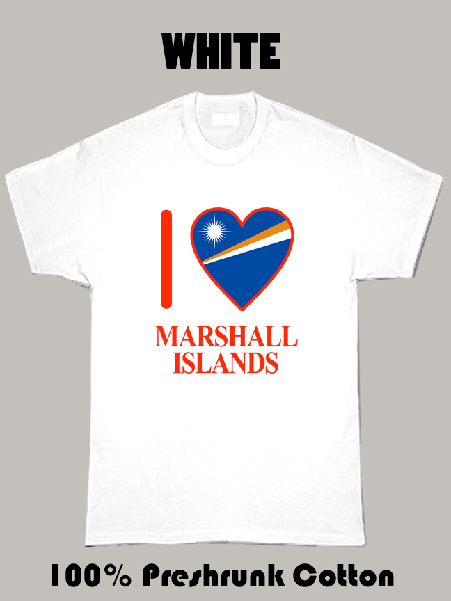 I Love Marshall Islands Olympics Country T Shirt