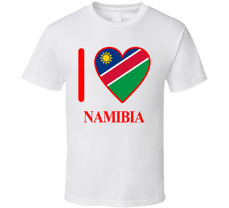 I Love Namibia Olympics Country T Shirt