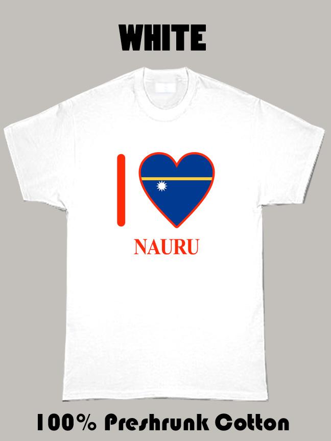 I Love Nauru Olympics Country T Shirt
