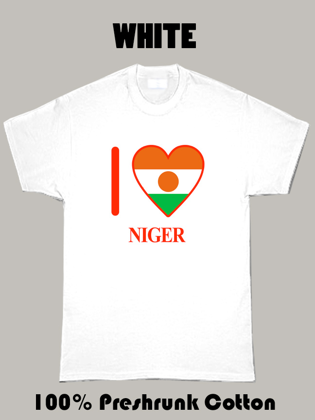 I Love Niger Olympics Country T Shirt
