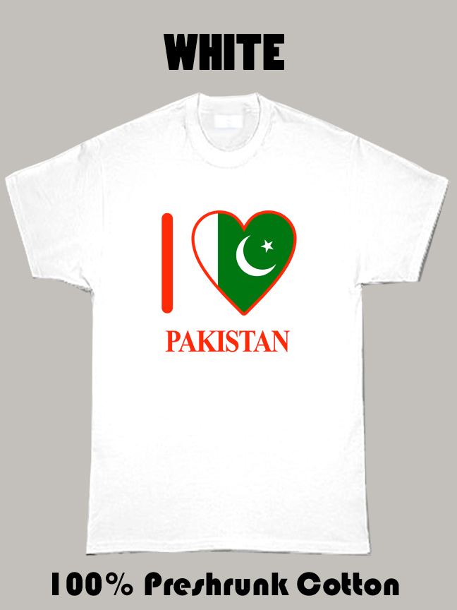 I Love Pakistan Olympics Country T Shirt
