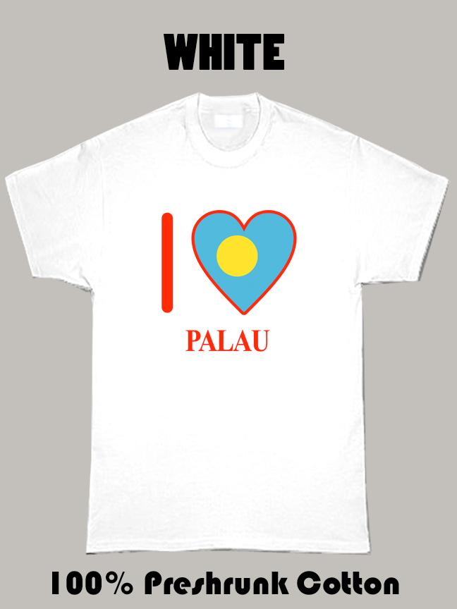 I Love Palau Olympics Country T Shirt