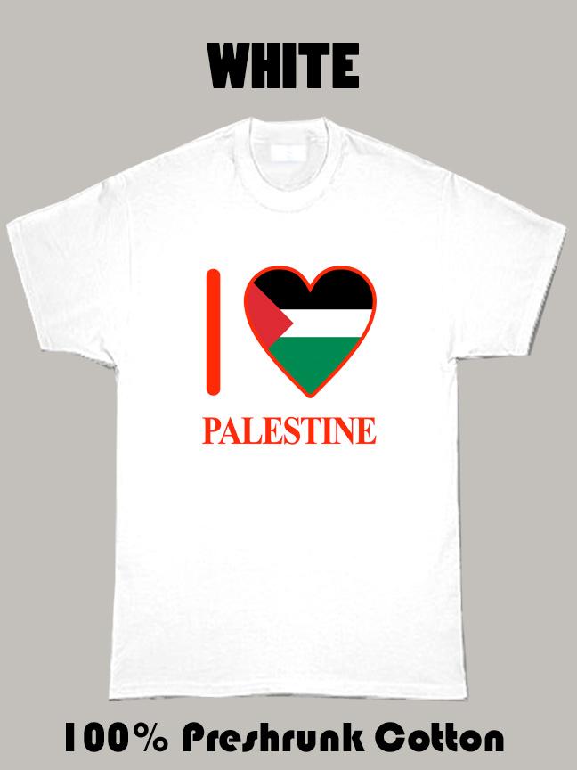 I Love Palestine Olympics Country T Shirt