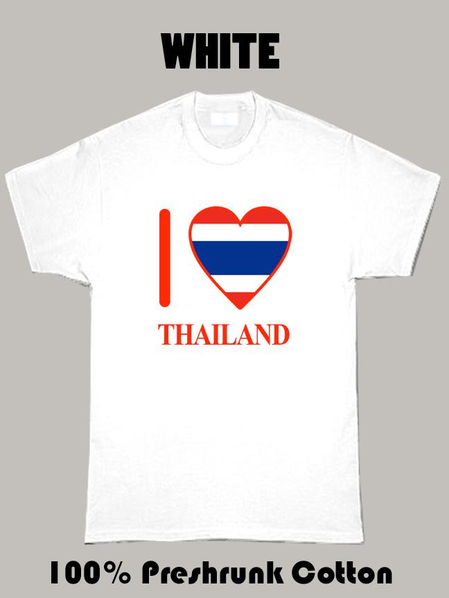 I Love Thailand Olympics Country T Shirt
