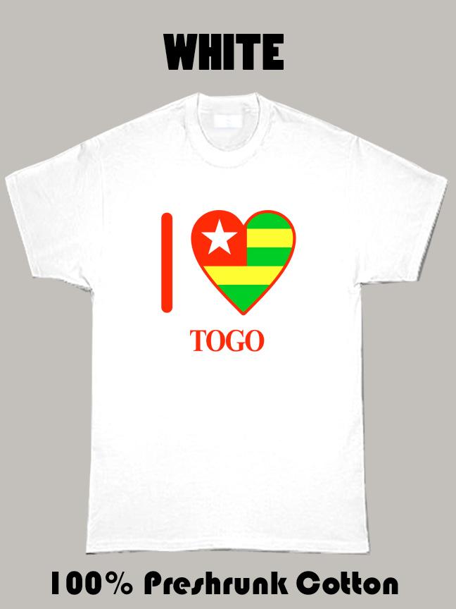I Love Togo Olympics Country T Shirt